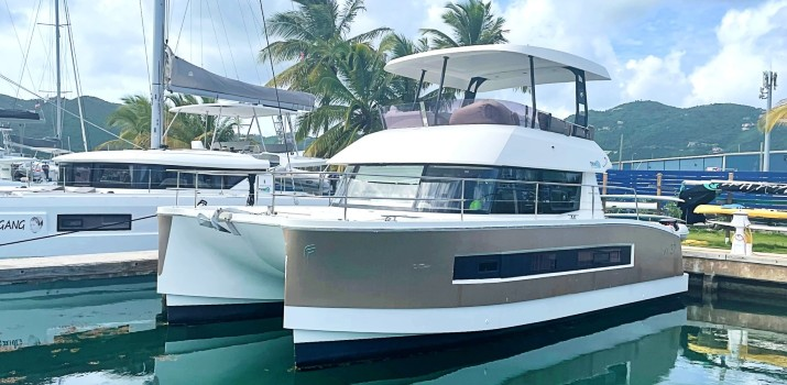 Stolen Booty | 2018 | Fountaine Pajot MY37 Power Cat