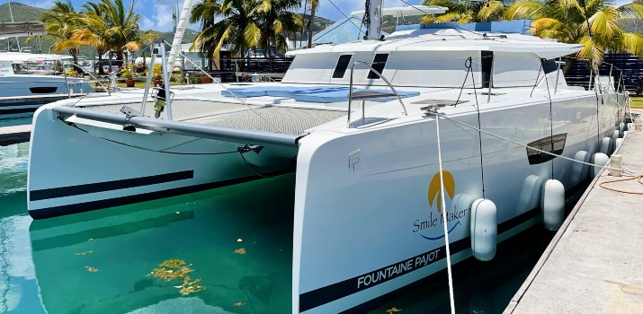 Smile Maker | 2020 | Fountaine Pajot Saona 47